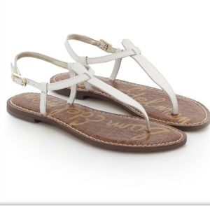 Sam Edelman Gigi Sandals in White like new